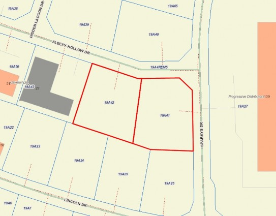 Jay Bodden Industrial Park - Lots for Rent for rent, George Town Property