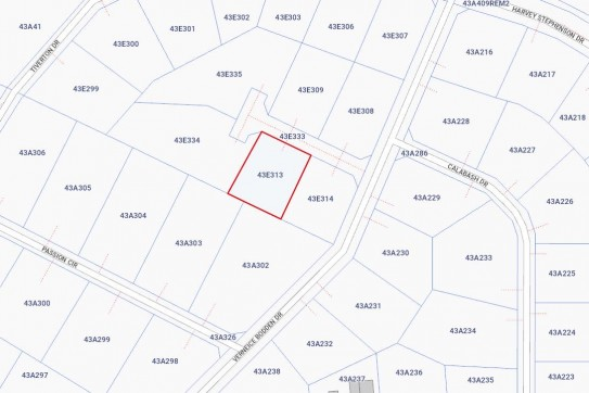 Lookout Gardens Land BT for sale, 1107, Bodden Town Property